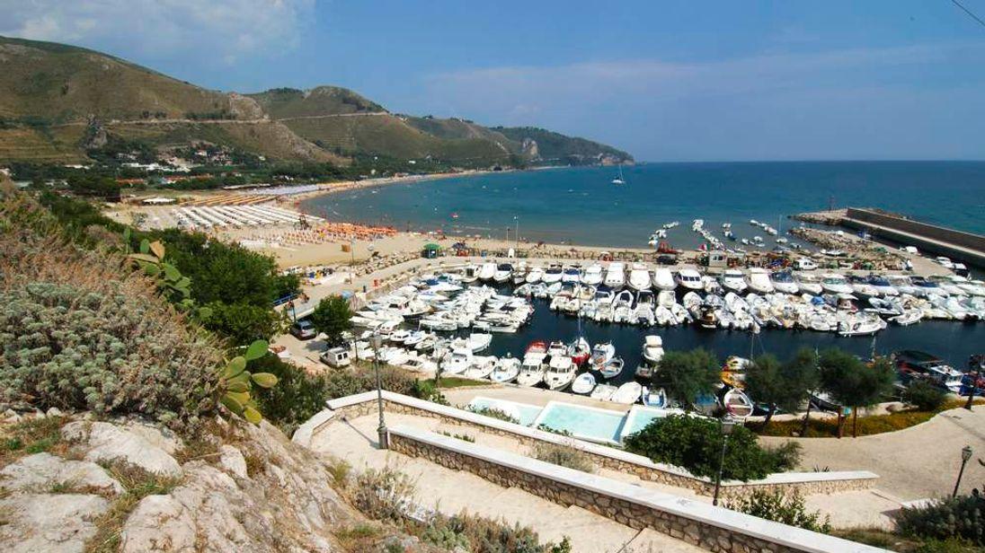 A view of Sperlonga, Italy