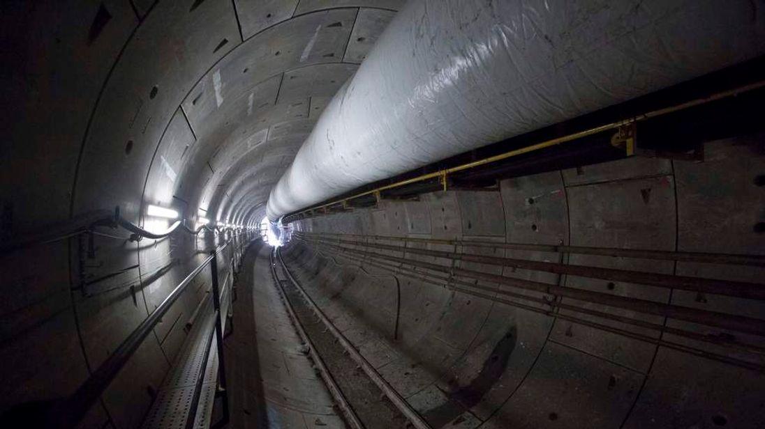 Progress in the Eastern tunnel