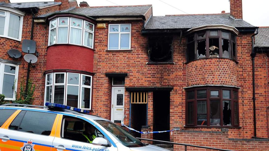 Leicester House Fire