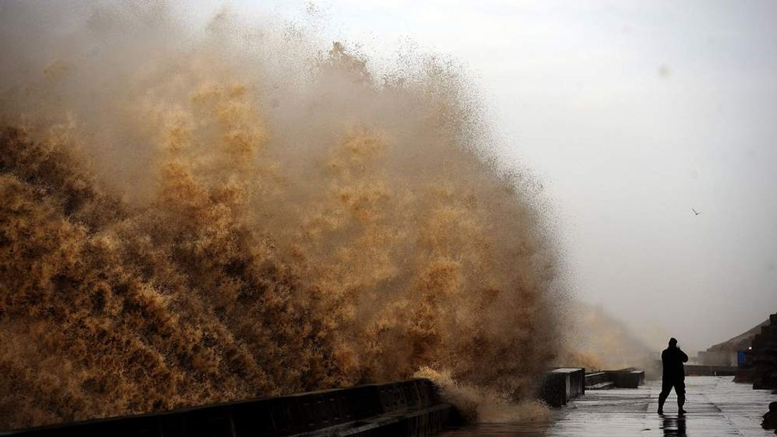 Gales And Rain Continue To Hit UK