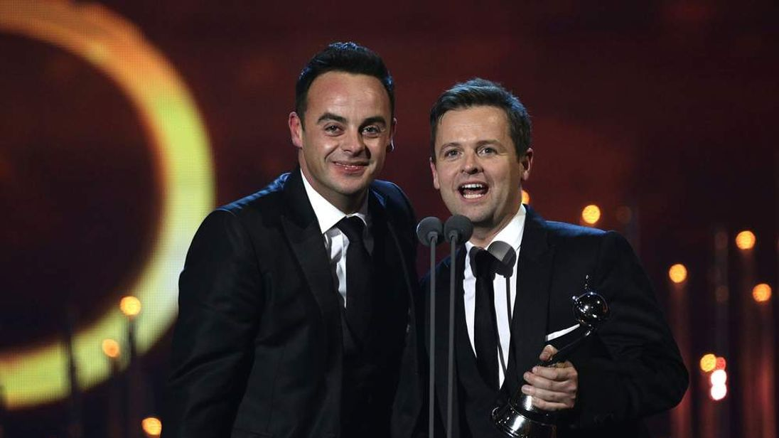 National Television Awards 2014 Anthony McPartlin And Declan Donnelly