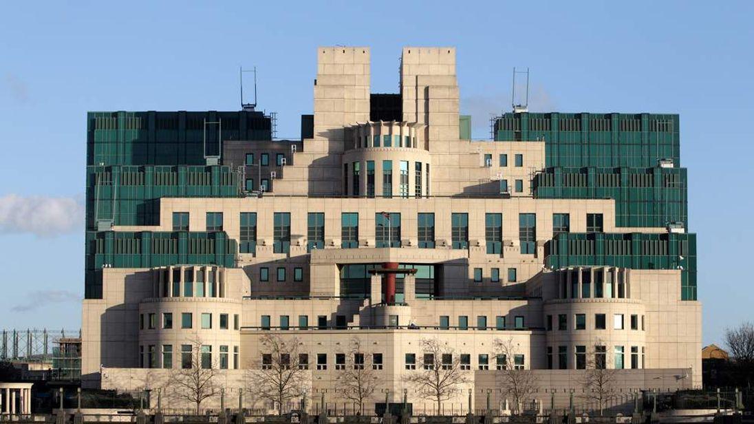 The headquarters of MI6, the Secret Intelligence Service