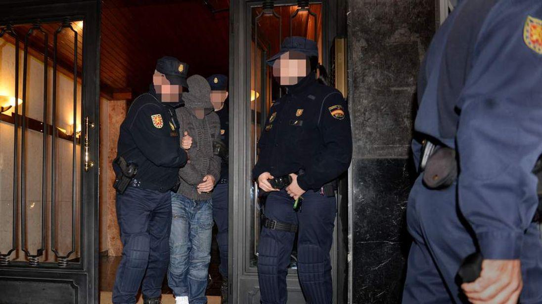 Boiler room gang raids