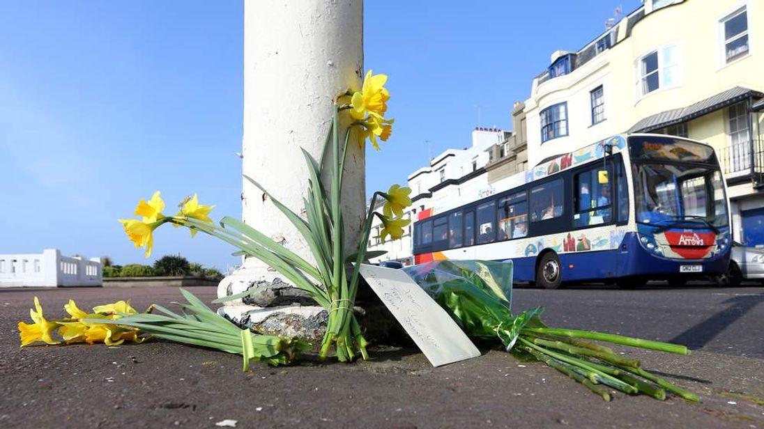 Hastings pedestrian police car death