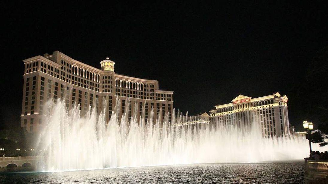 The Bellagio resort and casino in Las Vegas, Nevada