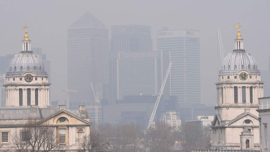 Pollution levels rise.