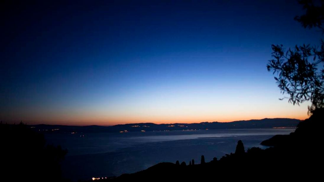 The Greek island of Lesvos