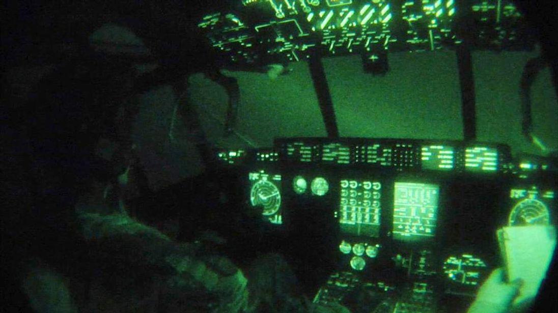 RAF cockpit