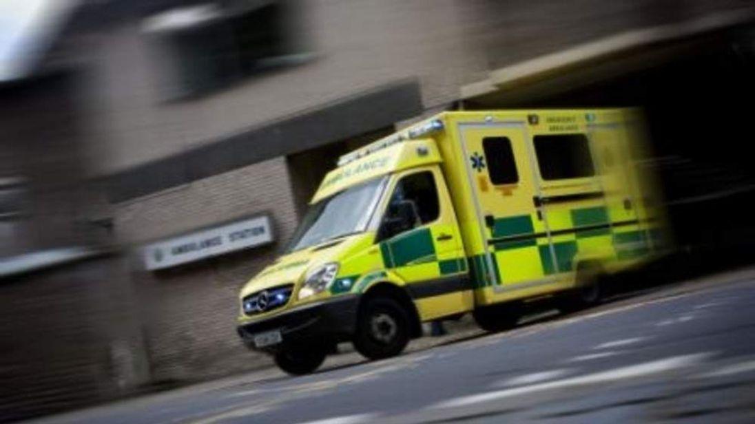A South Western Ambulance Service vehicle