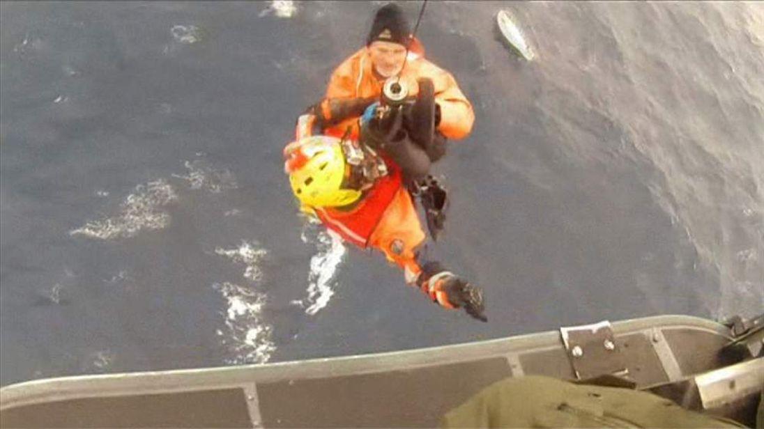 Andrew Halcrow's rescue