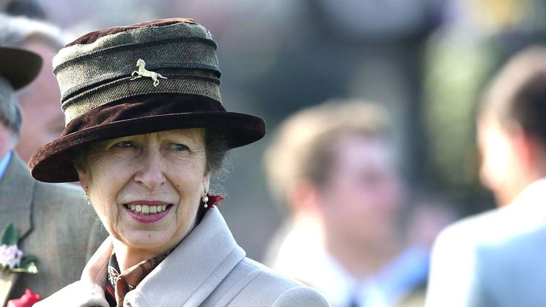 Princess Anne, The Princess Royal attends Ladies Day