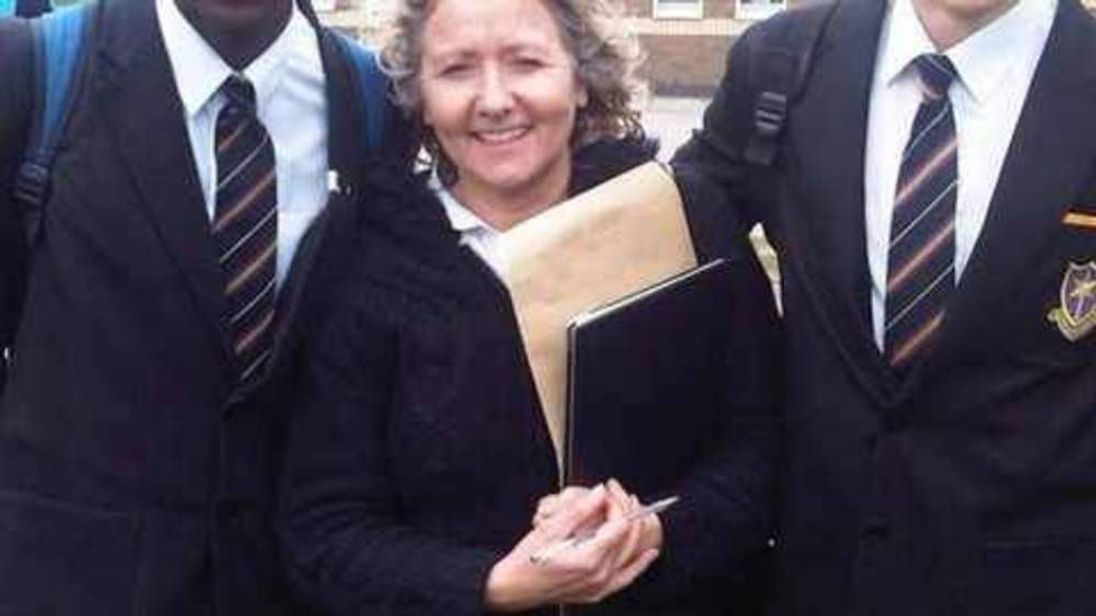 Spanish teacher Anne Maguire
