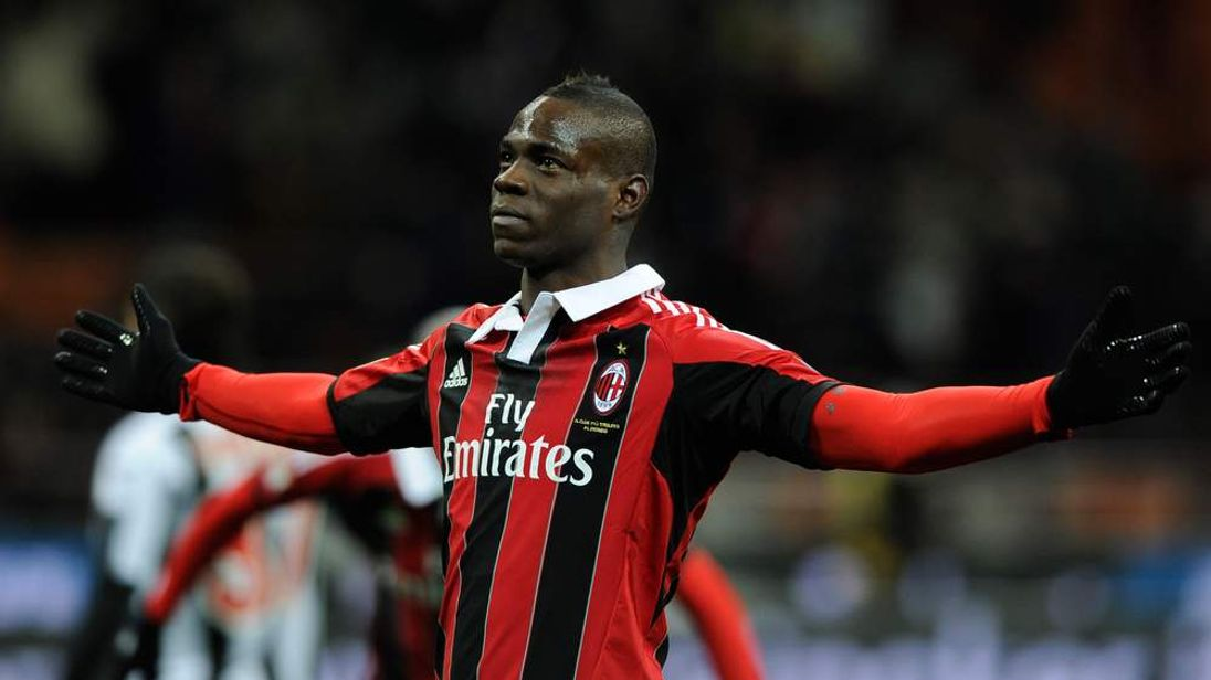 Former Manchester City player Mario Balotelli
