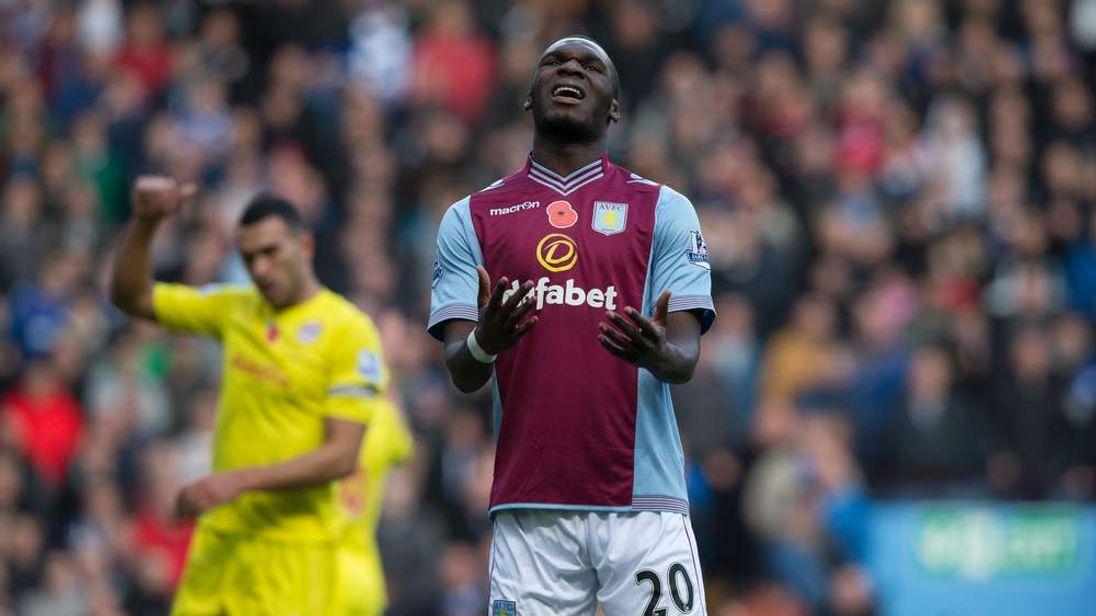 Striker Christian Benteke has been one of Aston Villa's brightest stars in recent times