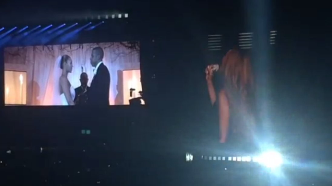 Beyonce and Jay Z wedding video