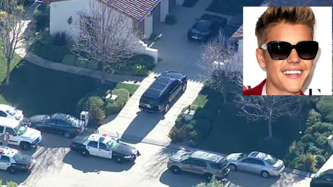 Justin Bieber's House Raided