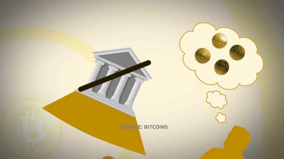 Bitcoins graphic