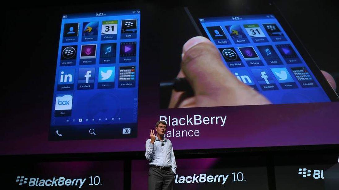 RIM CEO Thorsten Heins Speaks To Blackberry Conference In San Jose