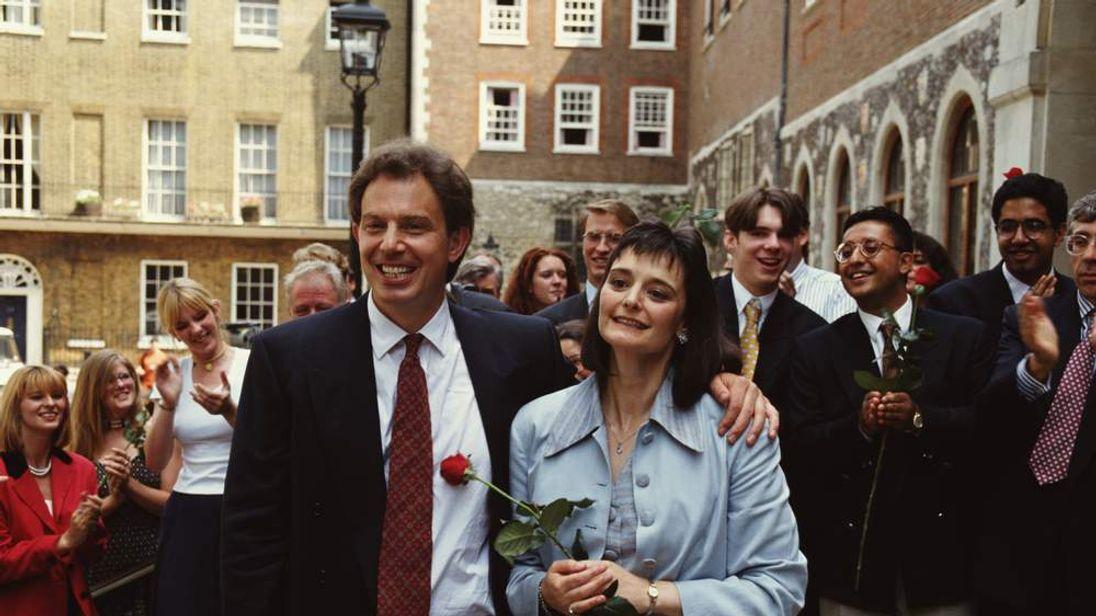 Blair Wins Labour Leader