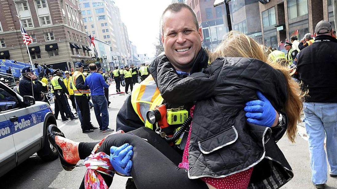 Boston firefighter James Plourde