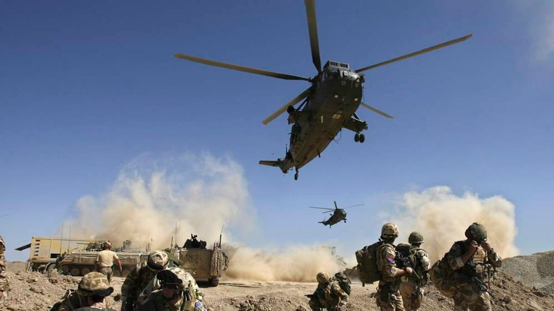 British troops in Afghanistan.