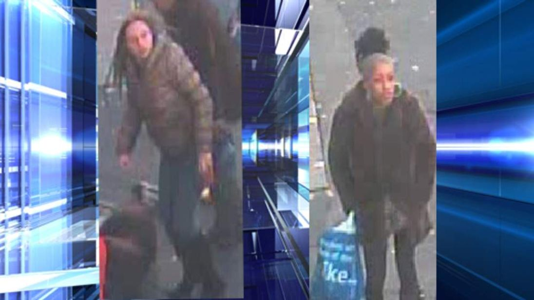 Women wanted in connecttion with Birmingham theft