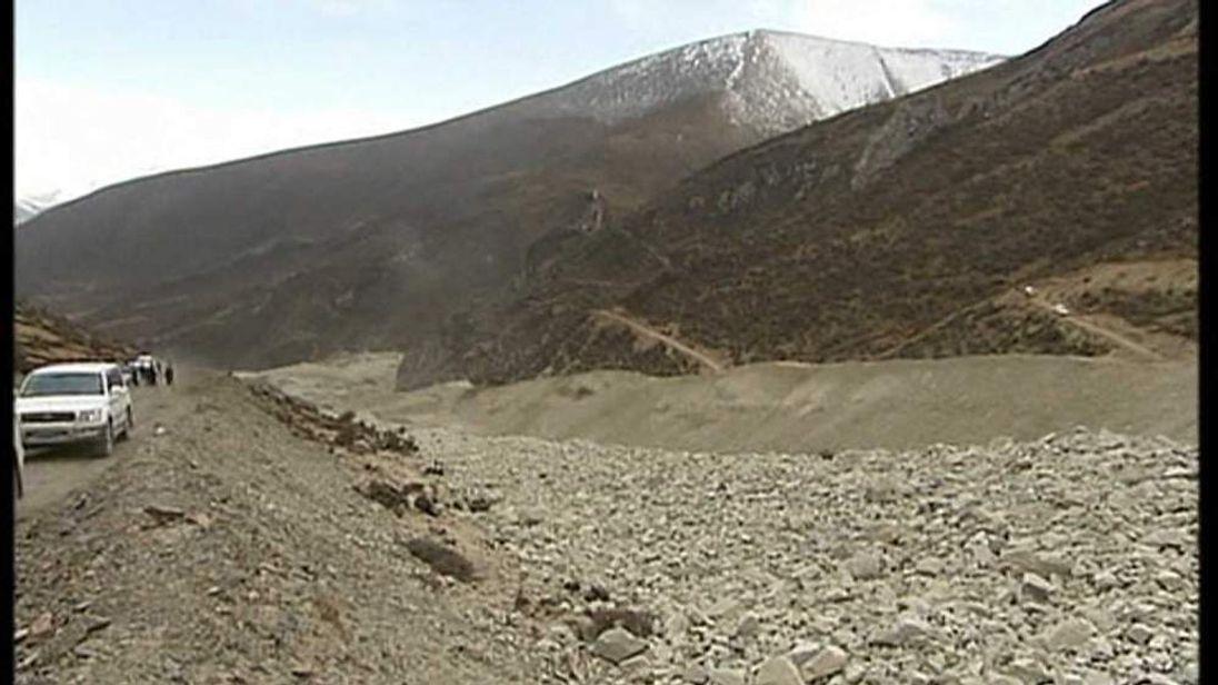 Tibet landslide