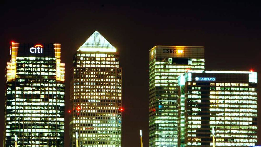 Canary Wharf  business district