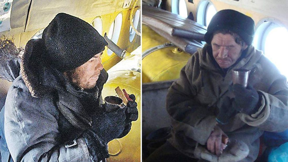 Two fishermen are being investigated for murder after being rescued, with cannibalism being suspected. Photo courtesy The Siberian Times