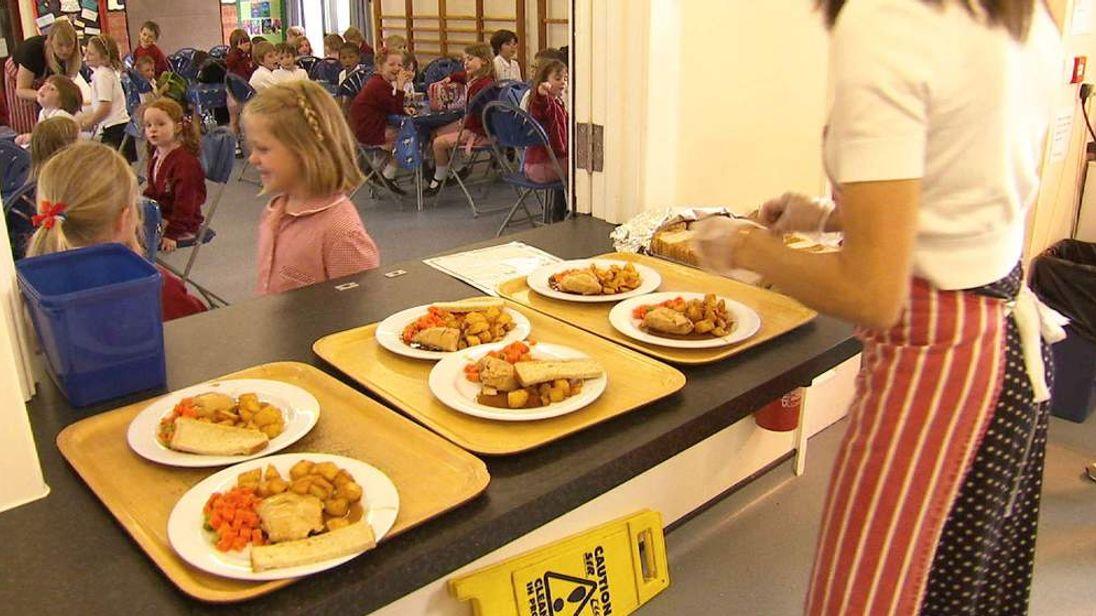 School canteen food