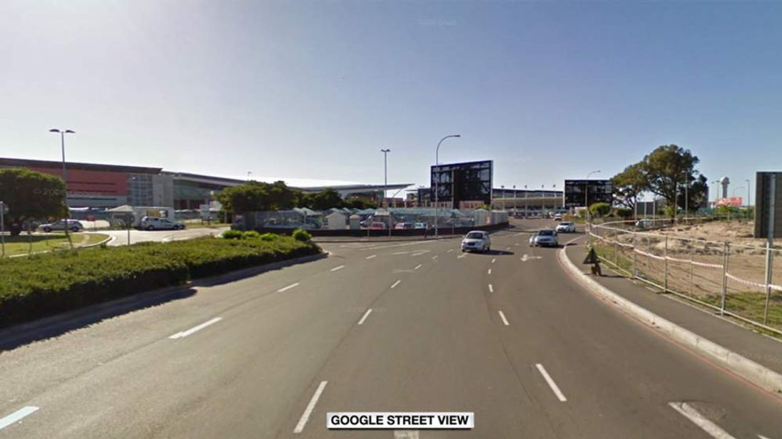 Cape Town's international airport, South Africa