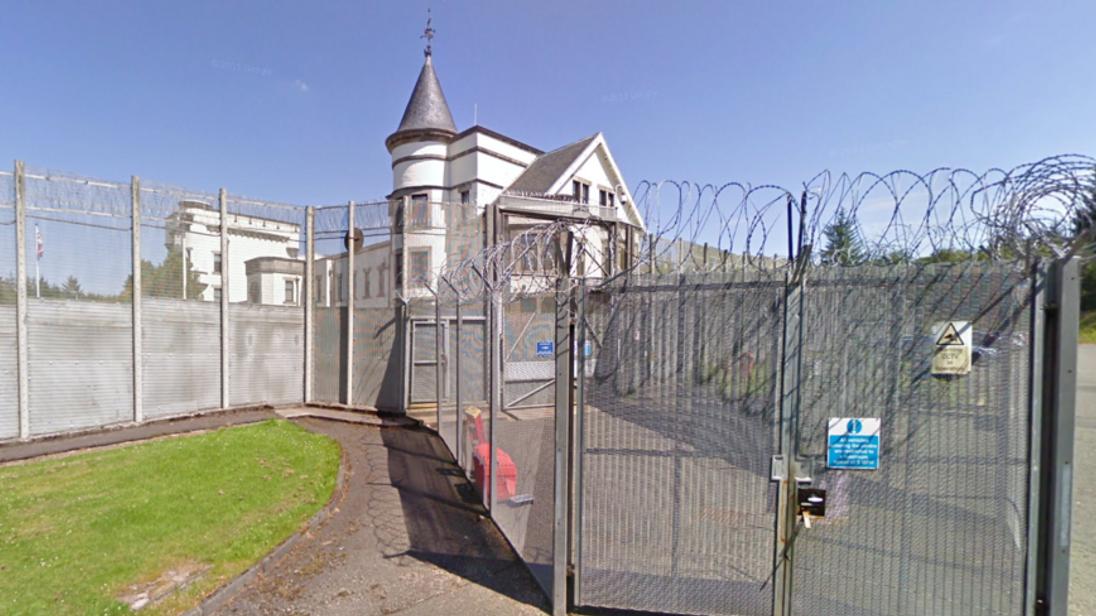 Dungavel Detention Centre in South Lanarkshire