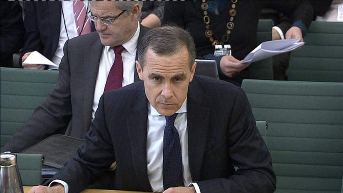 Mark Carney before Treasury Select Committee