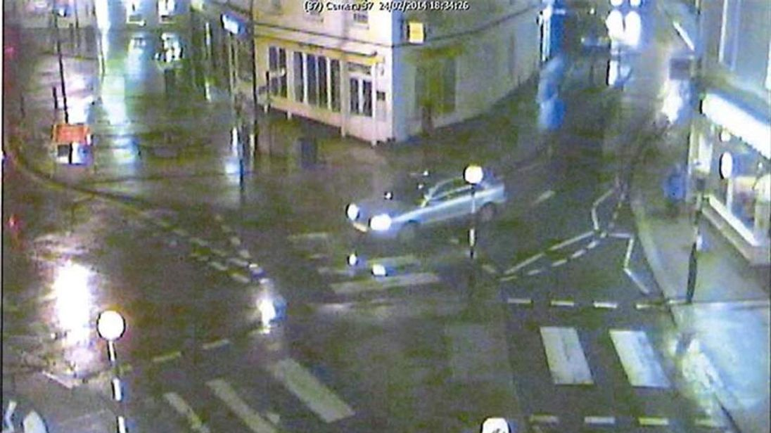 CCTV footage of the last time Mr Jeal was seen