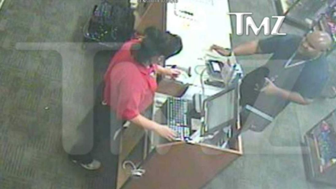 Videograb showing fugitive policeman Christopher Dorner