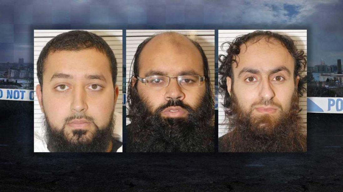 Ashik Ali, Irfan Naseer and Irfan Khalid