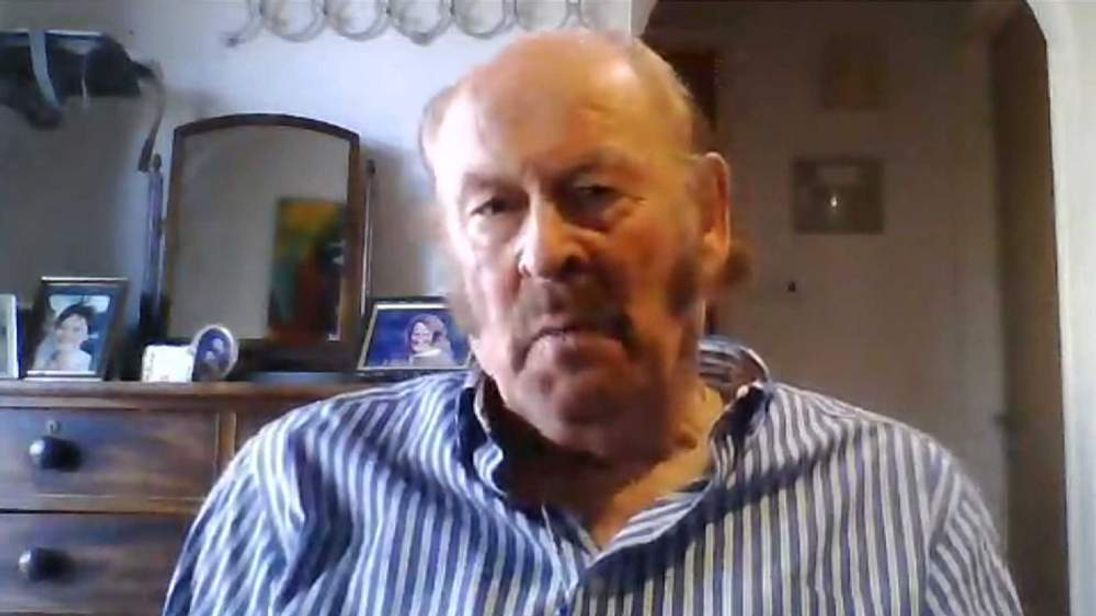 British ex-pat David Symonds in Cyprus