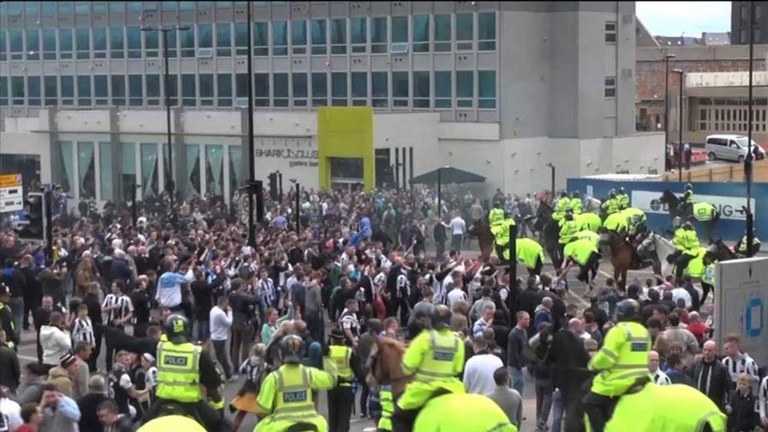 Unrest among Newcastle fans