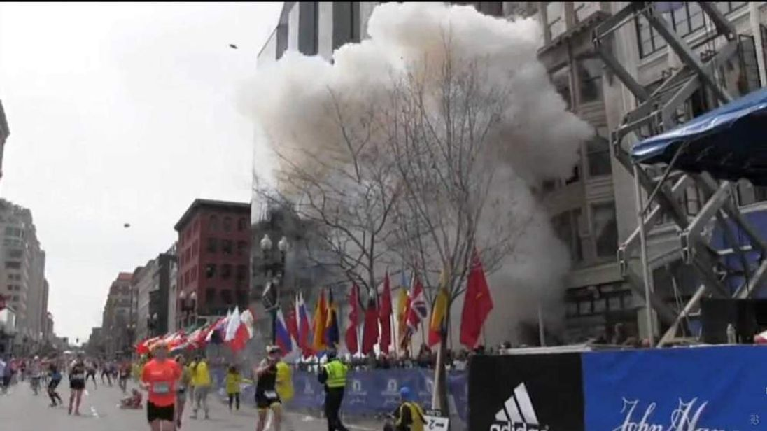 Twin blasts at Boston Marathon