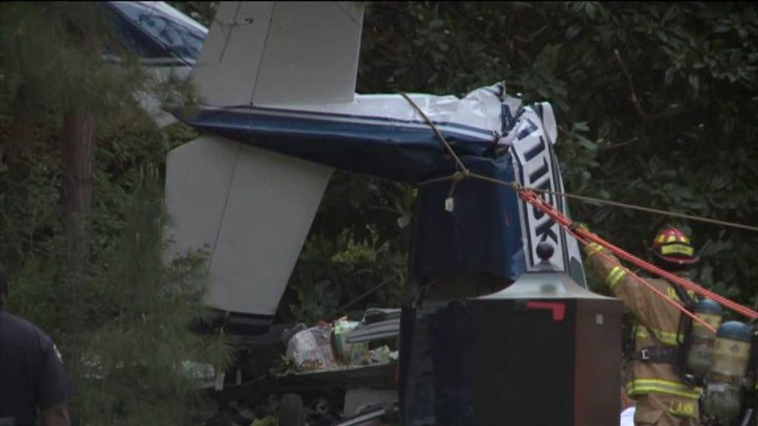 Plane crash at Williamsburg, Virginia