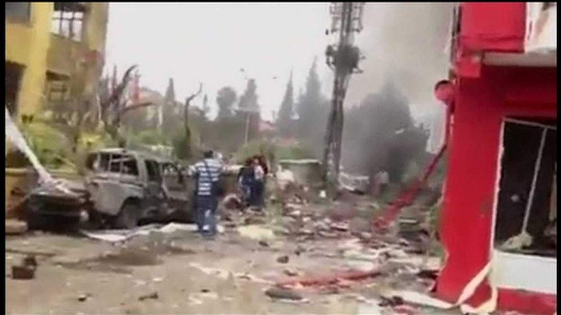 Car bomb blast in Reyhanli, Turkey near Syria border