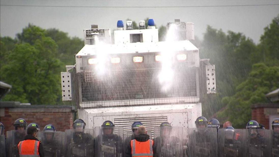 Police op in Northern Ireland for G8