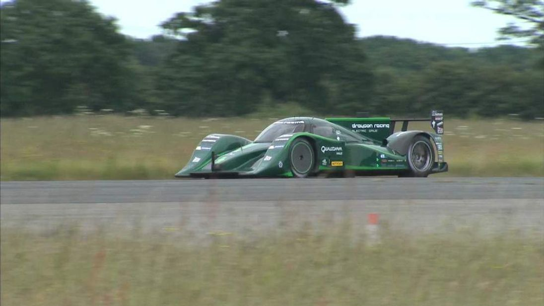Drayson Racing's car breaks the electric land speed record
