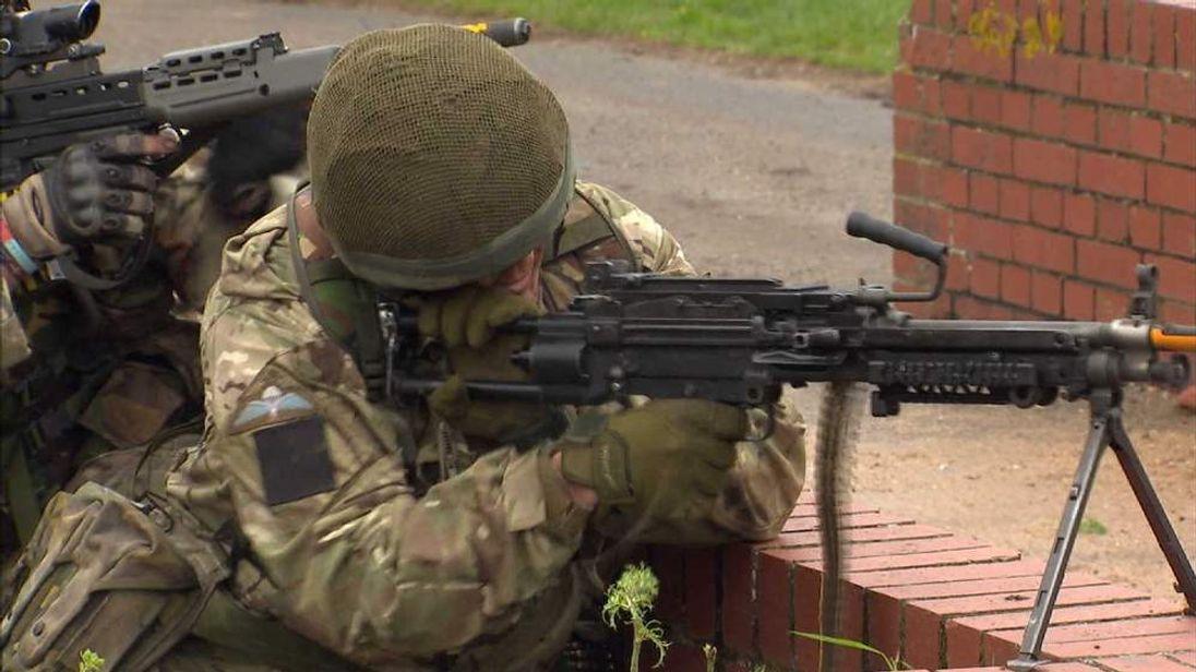 An Army reservist
