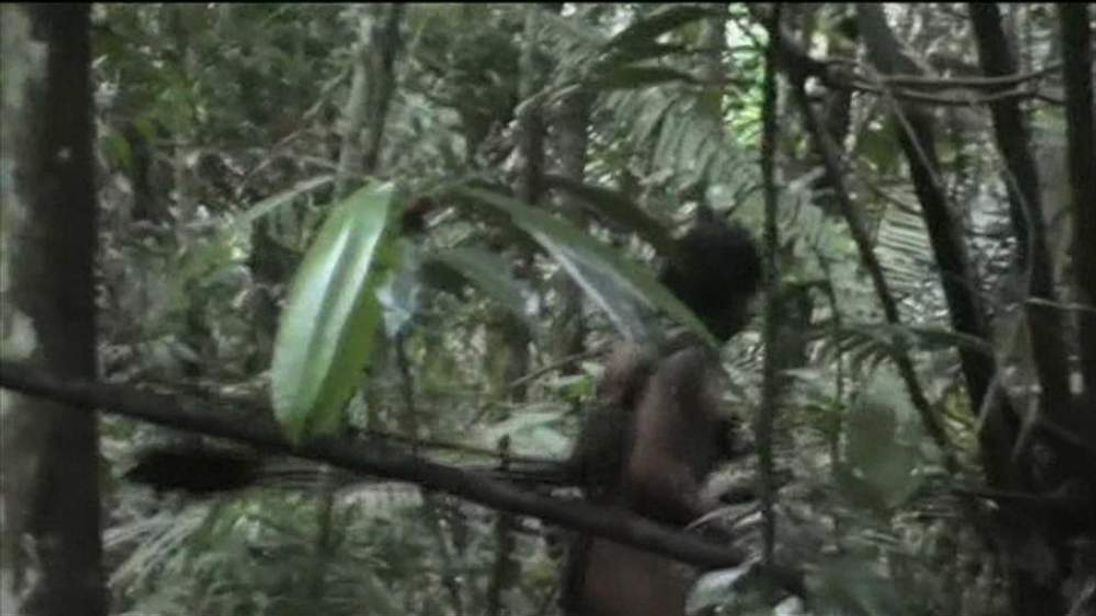 Amazon tribe member