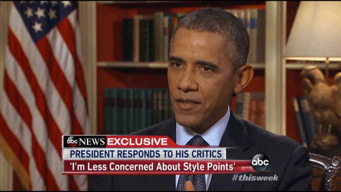 President Obama On ABC Interview