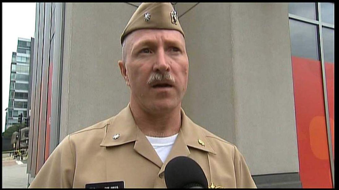 Tim Jirus who witnessed shooting at Navy Yard
