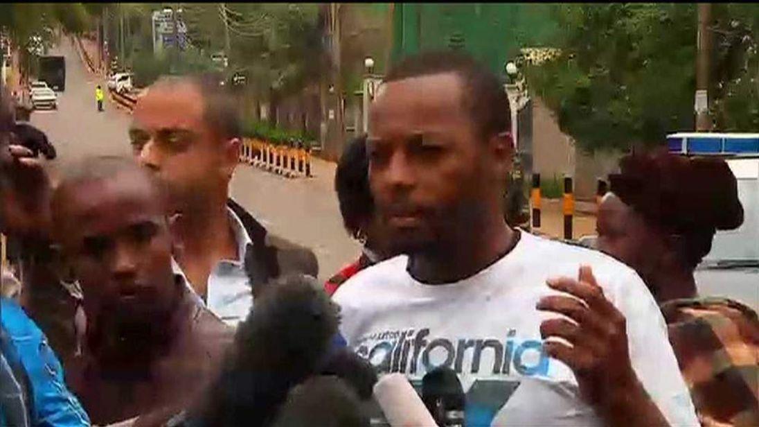 Ben Mulwa survived the terrorist attack on Nairobi's Westgate shopping centre