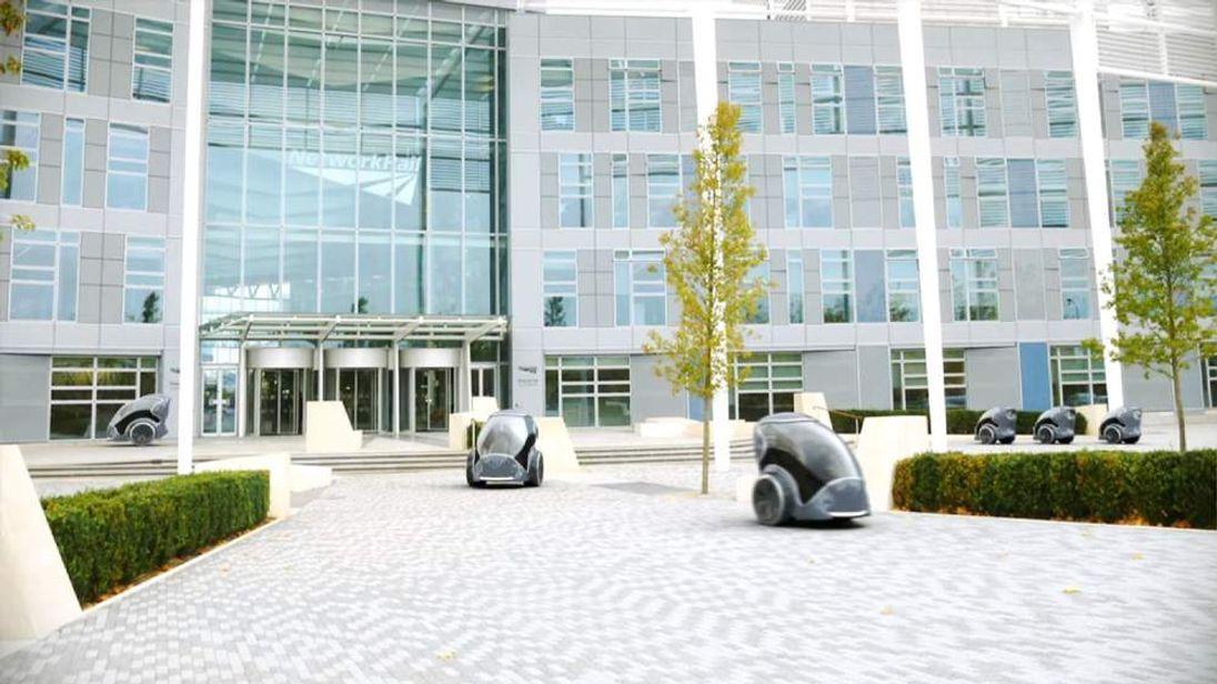 Milton Keynes Pod Driverless Car