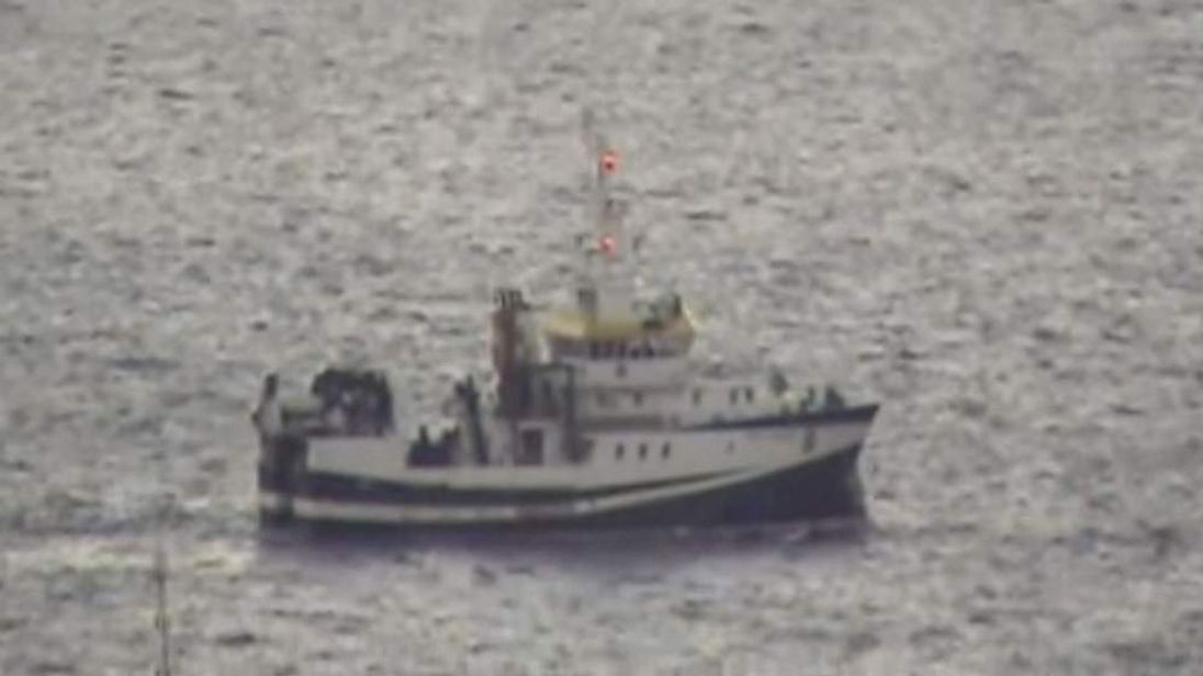Gibraltar: Spanish ship told to leave by Royal Navy